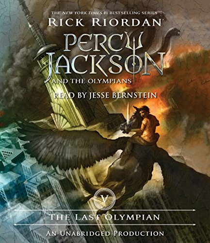 The Last Olympian: Percy Jackson, Book 5 audiobook cover art