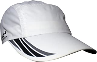Headsweats Woven Race Performance Running/Outdoor Sports Hat, White, One Size Fits All