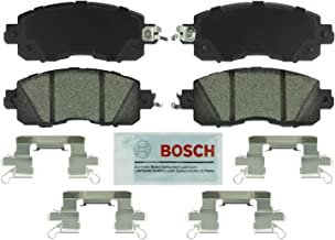 Bosch BE1650H Blue Disc Brake Pad Set with Hardware for Select 2011-15 Nissan Altima and Leaf - FRONT