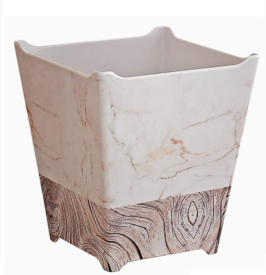 FuLov Wastebaskets Max 86% OFF 6L Creative Selling Plastic Durable Small Modern Bath