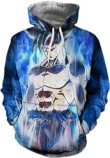 Anime 3D Hoodies Dragon Ball Z Pocket Gohan Hooded Sweatshirts Kid Goku Pullovers Men Women