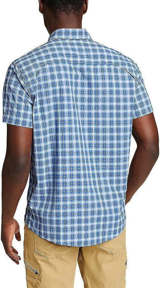 Eddie Bauer Men's Pack It Seersucker Short-Sleeve Shirt