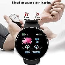 rabate Unisex Casual Multifunctional Round Shape Bluetooth Smart Wristband Smart Watches