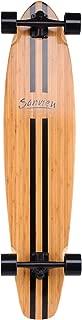 SANVIEW 42inch Complete Bamboo Longboard Skateboards Cruiser