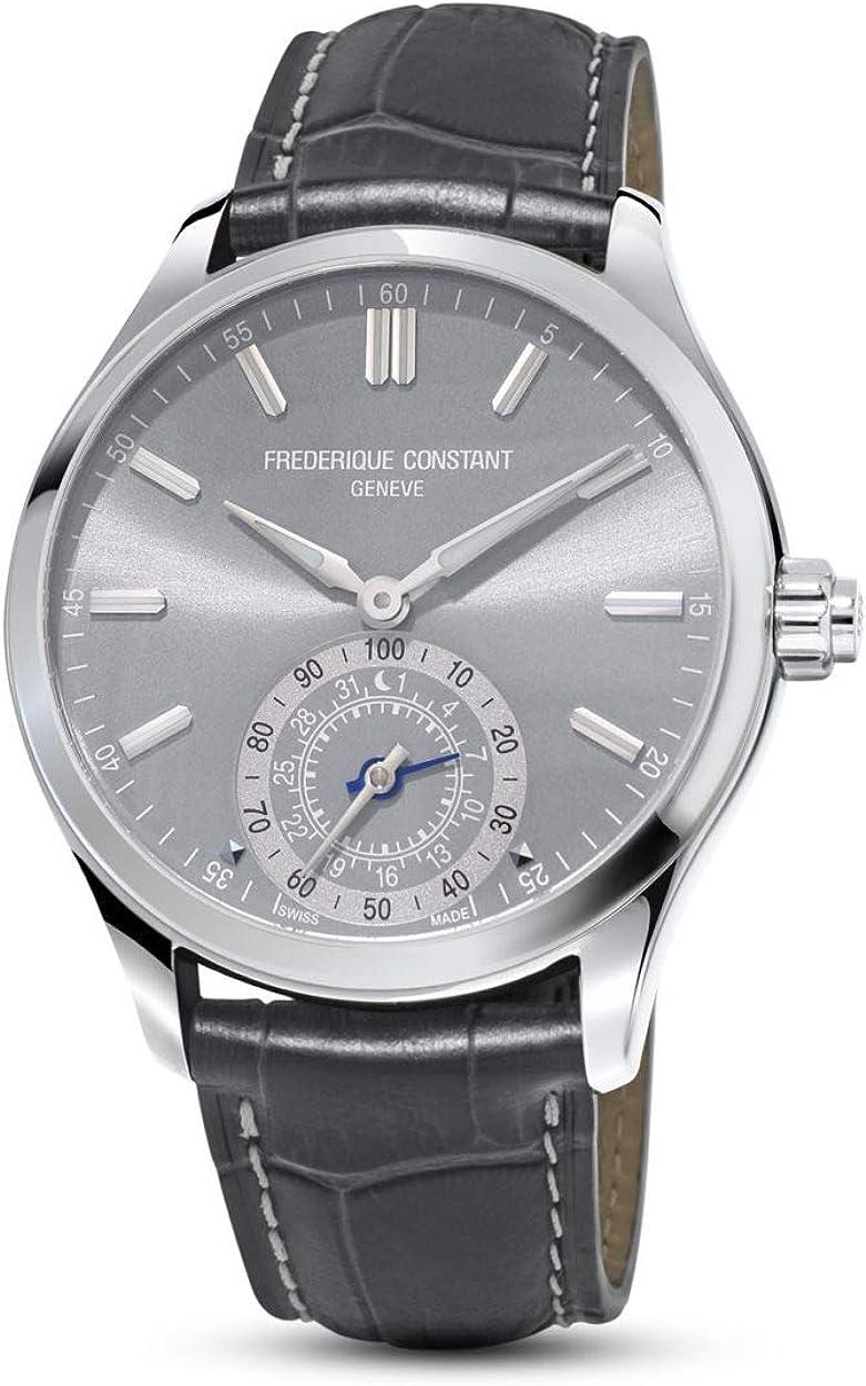 Frederique Constant Silver Dial Horological Men's FC- Max 76% OFF Smartwatch Superlatite