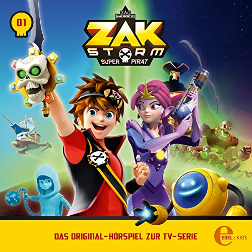 Captain Zak audiobook cover art