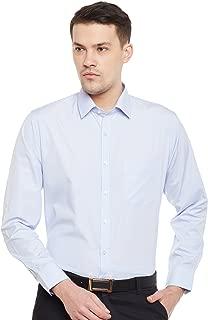Lamode Men's Stripe Blue Pin Stripe Formal Shirt855