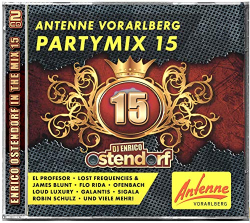 ANTENNE VORARLBERG Partymix Vol. 15 - Mixed by Enrico Ostendorf