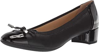 "GEOX Womens Carey 32 Ballet Shoe, 3/4"" Heel"