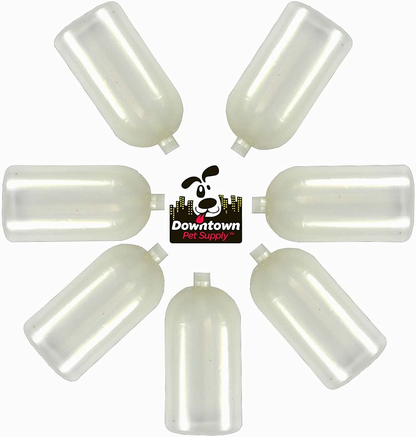 20 Extra X Large Heavy Duty Replacement Squeakers, by Downtown Pet Supply