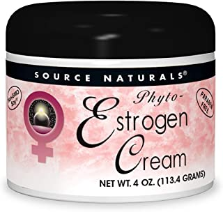 Source Naturals Phyto-Estrogen Cream, Paraben-Free - 4 oz Cream