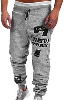 LINSINCH Pantalons Hommes Jogging Grande Taille Cargo La Nouvelle Mode Style des D/ét/é Salopette D/écontract/ée Couleur Pure Pantalon Confortable Kaki Lin Slim Taille Elastique Blanc Bermudas