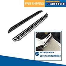 AAAdvancer Fits for Audi Q7 SQ7 2006-2015 Stainless Steel Running Boards Side Steps Nerf Bar Side Bar Protector Bar