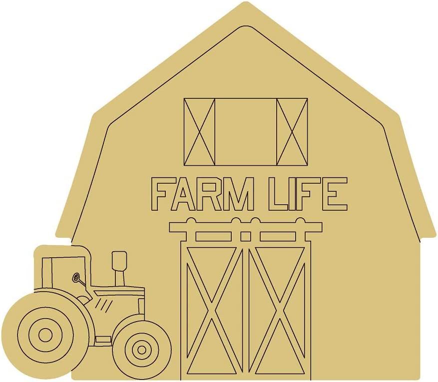 Barn Design by Ranking TOP15 Lines Cutout price Unfinished Hanger Farm Cou Door Wood