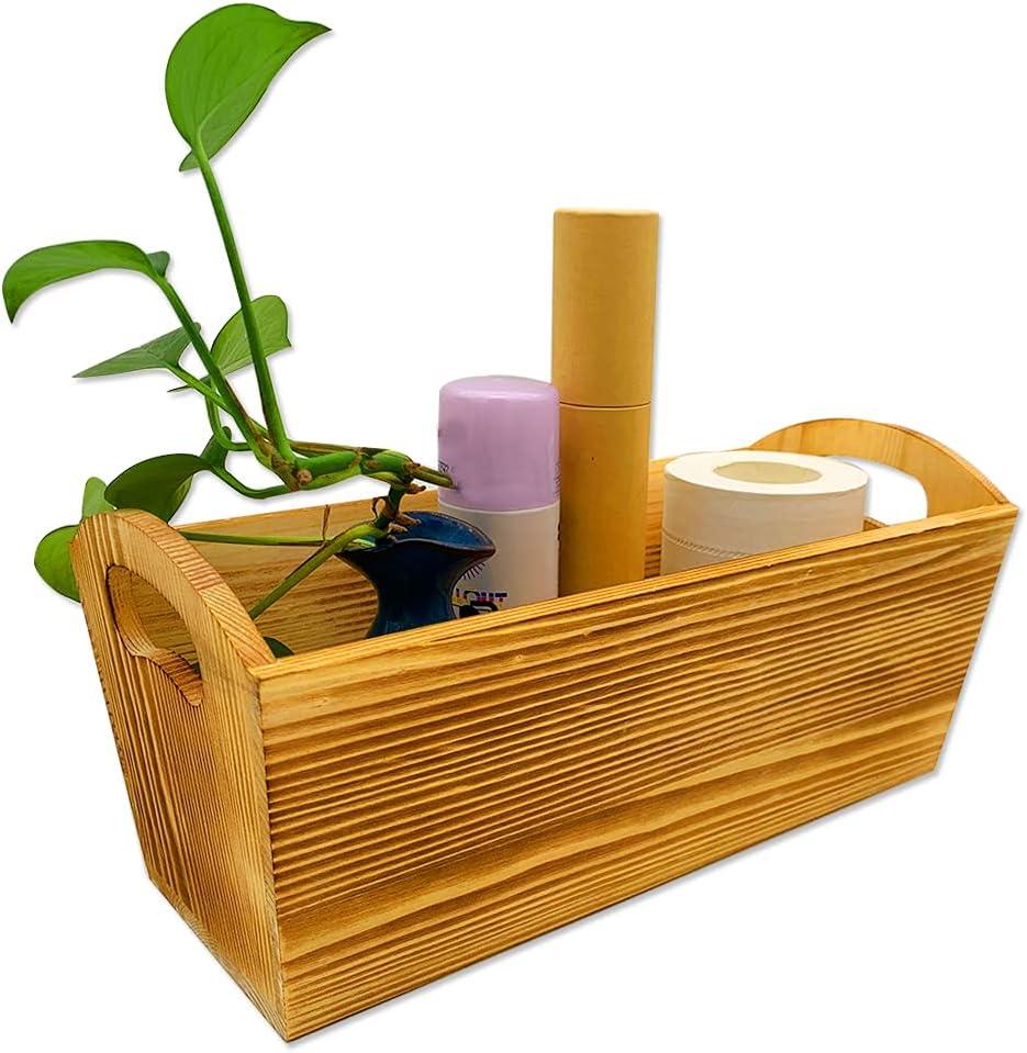 Dotlite Over Cheap sale item handling Bathroom Decor Box Toilet Holder Paper Wood Tank Pa