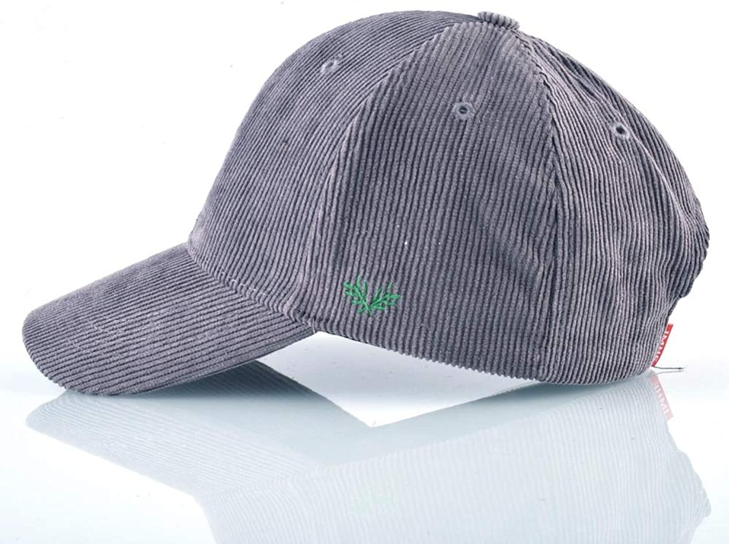 AAMOUSE Spring Corduroy Baseball Cap Women Flamingo Embroidery Hip Hop Hats for Men Adjtable Solid Casual Bone