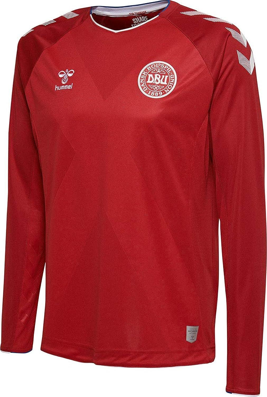 Hummel Sport Hummel Danish National Soccer Team Long Sleeve Home Jersey
