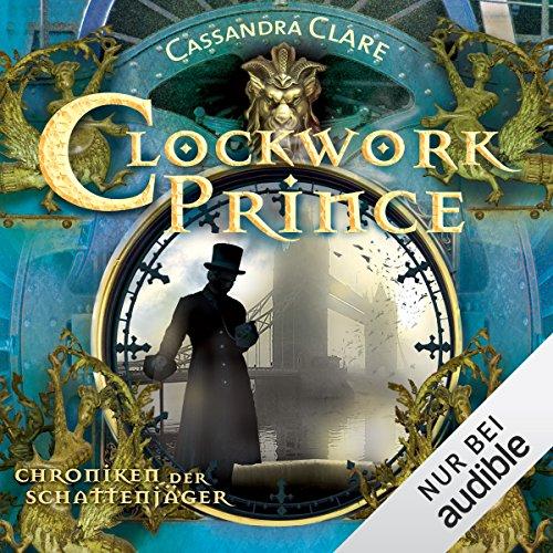 Clockwork Prince audiobook cover art