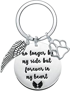 Pet Memorial Gifts Personalized Keychain - Loss of Pet Dog Sympathy Gifts Keychain Jewelry Gift