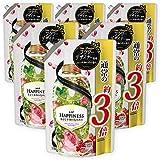 レノア ハピネス 柔軟剤 ナチュラルフレグランスシリーズ フローラル&ざくろの香り 詰め替え 超特大1180mL×6個
