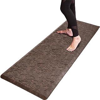 HEBE Kitchen Mat Cushioned Anti Fatigue Floor Mat Waterproof Non Skid Kitchen Rug Runner Ergonomic Floor Pad Comfort Stand...