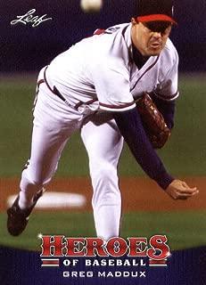 2015 Leaf Heroes of Baseball Card #25 Greg Maddux