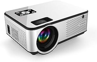 Projector, GoolRC C9 LED Mini Projector 1280 * 720P Full HD Projector Video Beamer Home Theater Support HD USB AV VGA AUX ...