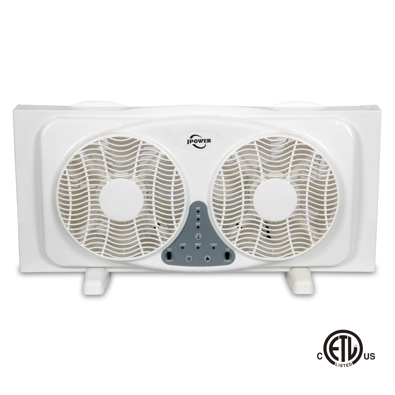 JPOWER Digital Reversible Airflow Thermostat