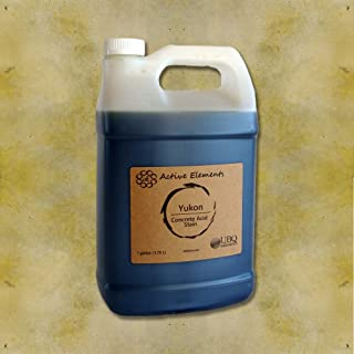Concrete Stain penetrating Acid Stain Color Yukon (Pale Brown) - 1 Gallon