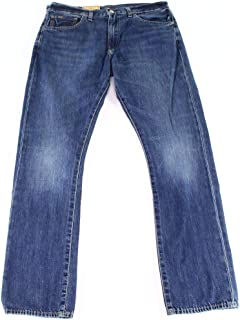 Mens Varick Denim Slim Jeans Blue 38