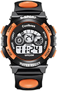 Heyuni. Waterproof Boys/Girls/Childrens Digital Sports Watches Kids Gift for age 4-12 Years Old