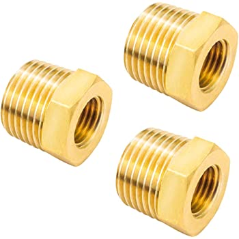 no logo WSF-Adapters 1pc Plastic Hose Fitting Hex Reducer Bushing M//F 1//8 1//4 3//8 1//2 3//4 BSP Male to Female Change Coupler Connector Adapter Size : Male 20 to Female 10