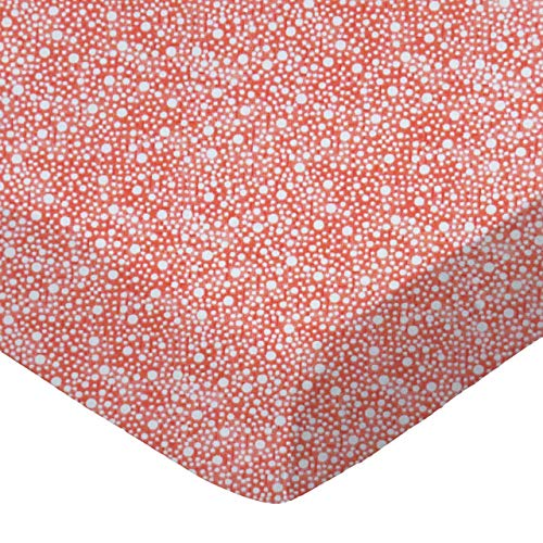 Read About SheetWorld Fitted 100% Cotton Percale Pack N Play Sheet Fits Graco 27 x 39, Confetti Dots...