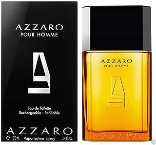 Azzārŏ Pŏur Hŏmme Cologne for Men 3.4 Fl. Oz / 100 ml Eau De Toilette Spray