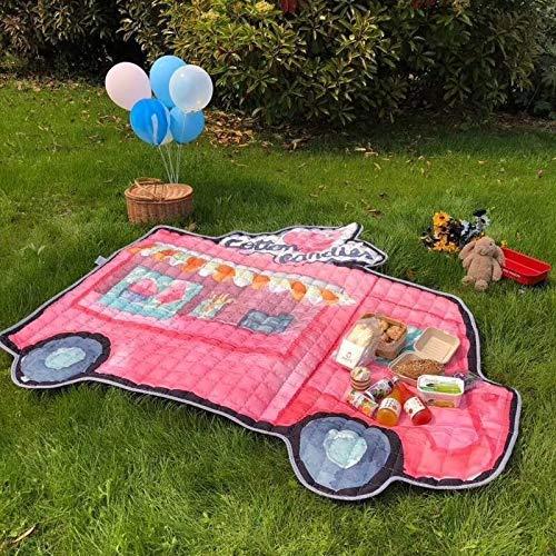 Bar Stools Children's Cartoon Waterproof Mat, Size: 165 * 195cm (at Maximum Size)
