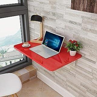 wsbdking Table Murale de Table Pliante de Cuisine Murale Pliante Table de Salle à Manger Flottante Table d'ordinateur pour...