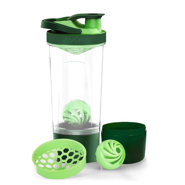 経済天結果AVOIN colorlife スポーツボトル プロテインシェーカー ボトル プラスチック ウォーターボトル ジム ダイエット 直飲み 720ml