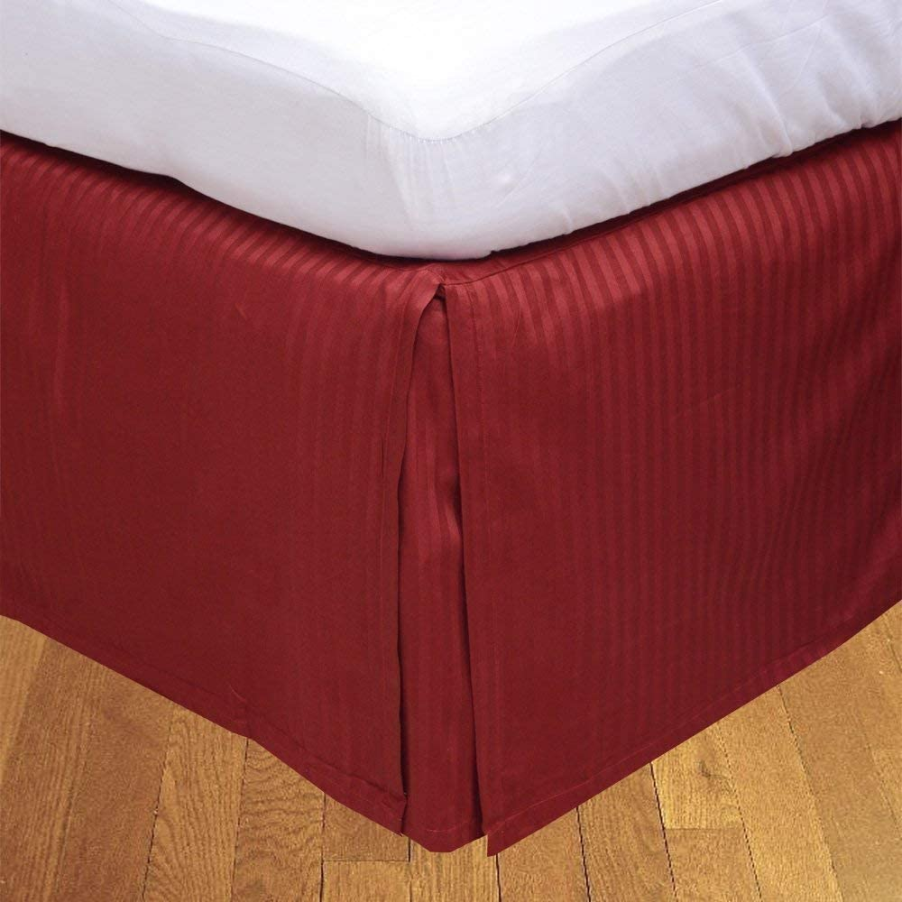 Real Special price 1000-TC Heavy Pima Cotton 1- Drop Skirt Over item handling ☆ Bed 8 Piece Length