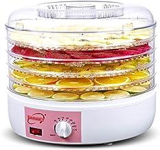 Machine de conservation des aliments, Déshydrateur alimentaire Ménage Séchoir Rond 5 Couche PP Plastique Visuel Plateau 25...