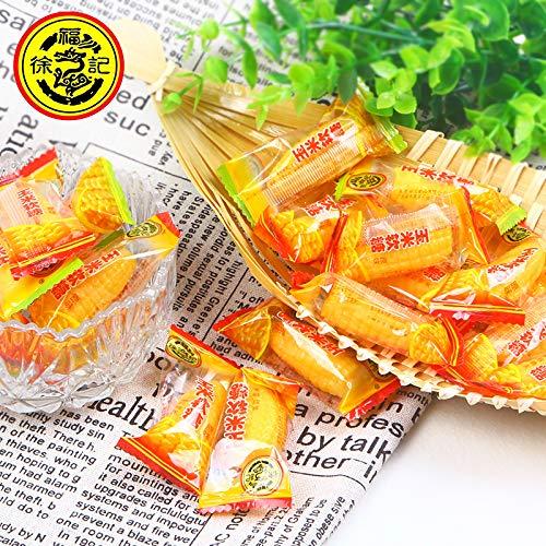 Xufuji corn sugar 250g cream flavor corn soft candy original bulk徐福记玉米糖250g奶油味玉米软糖原味散装