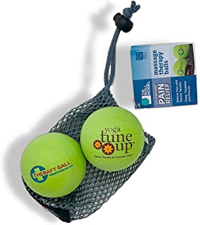 Yoga Tune Up Apple Green Therapy Balls, Roll Model Self-Massage Balls to Improve Mobility, Relieve Pain, Alleviate Stress, Myofascial Release, Trigger Point Therapy