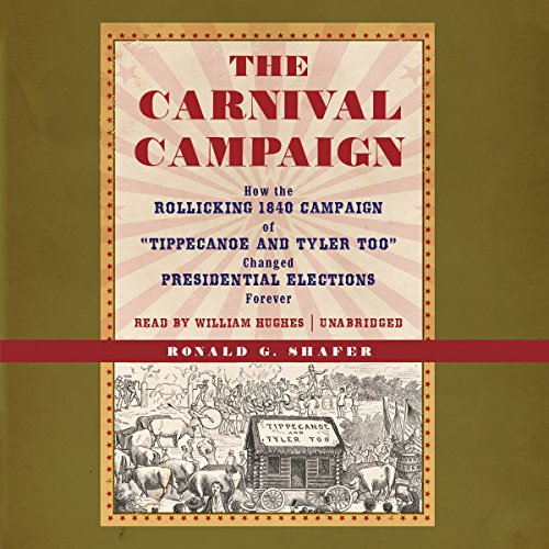The Carnival Campaign audiobook cover art
