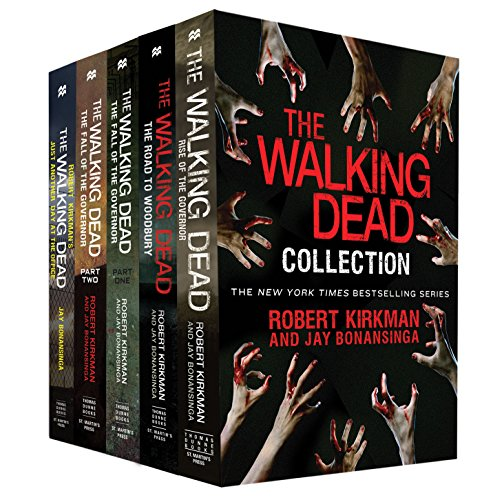 The Walking Dead Collection: Rise of the Governor; The Road to Woodbury; The Fall of the Governor, Parts I & II; Just Another Day at the Office (The Walking Dead Series) (English Edition)
