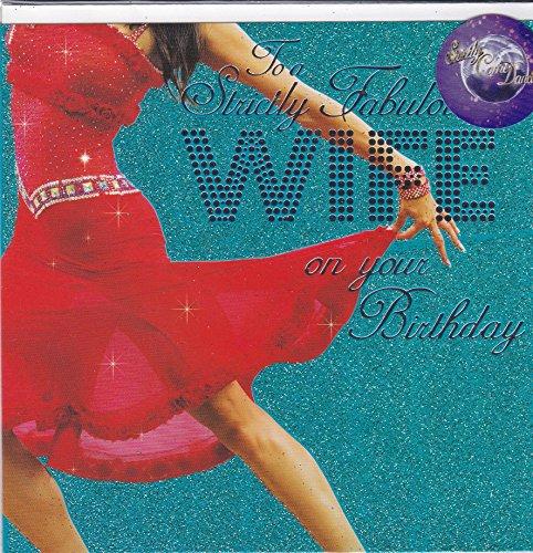 Vrouw verjaardagskaart ~ Strikt komen dansen ontwerp
