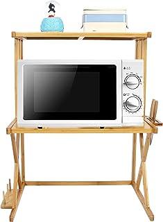 Cocoarm Étagère de Cuisine étagère Debout Support Micro-Ondes étagère Micro-Ondes étagère multifonctionnelle Micro-Ondes é...