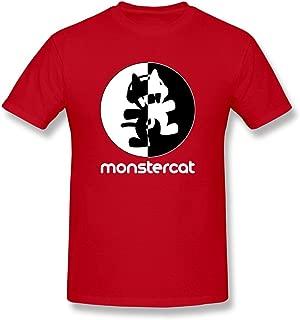 ToWi Men's Monstercat T-shirts Red
