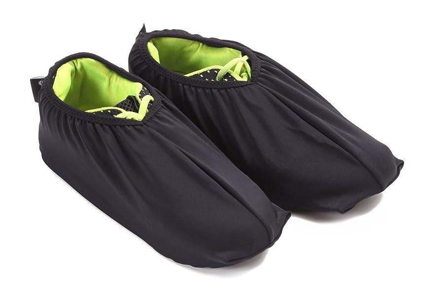 ぼんやりした害歪めるH&Yo スライドボード用シューズカバー スライダーボード用 靴カバー フリーサイズ