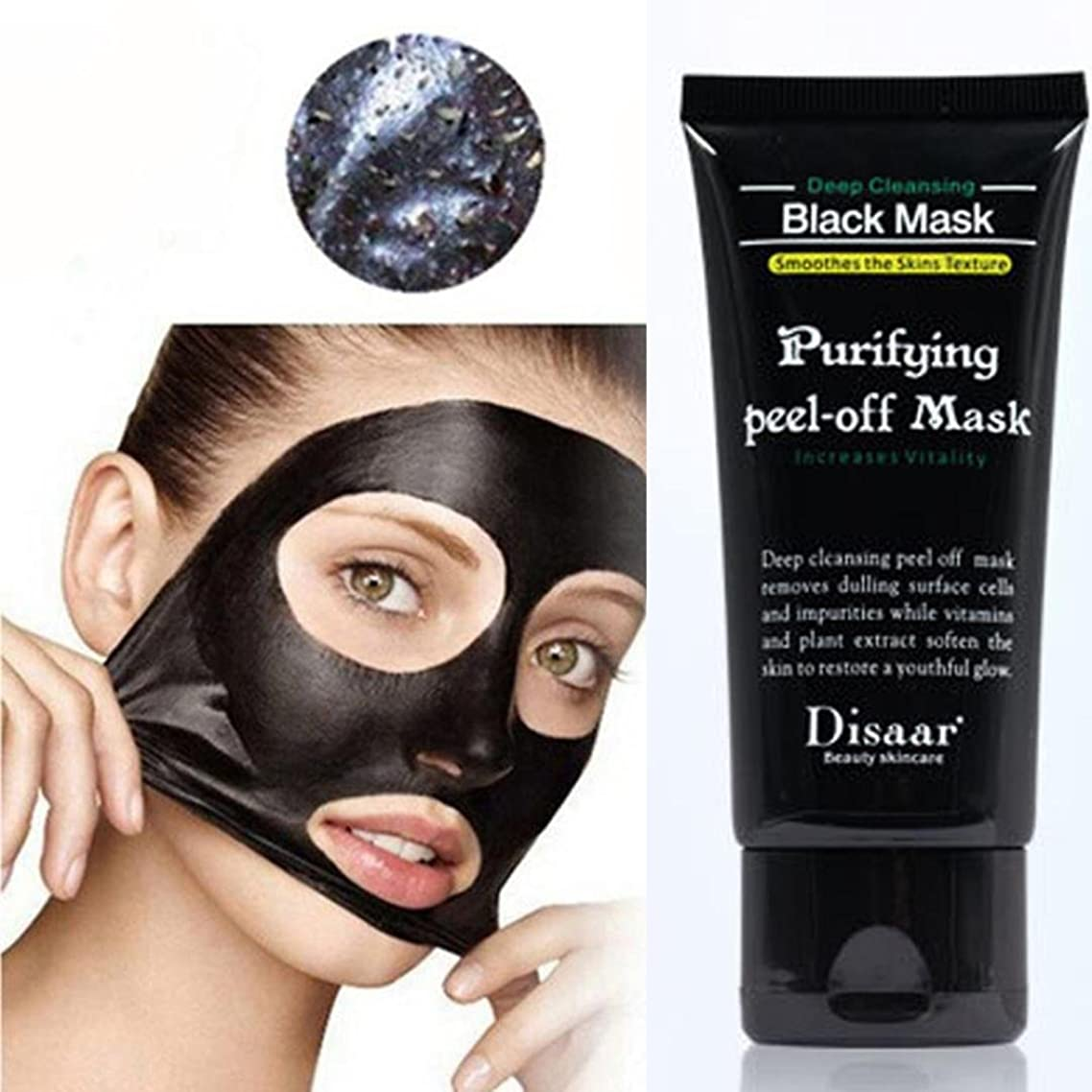 kaiCran Black Mud Deep Cleansing Purifying Peel Off Face Mask