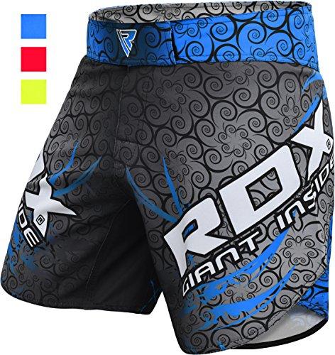 RDX MMA Shorts Blaze Training | Perfekt für Boxen, Freefight, Kampfsport, Kickboxen, Grappling | Fightshorts Kampfshorts für BJJ und Muay Thai (MEHRWEG)