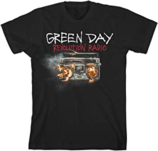 Green Day Revolution Radio Rock Music Punk Oficial Camiseta para Hombre